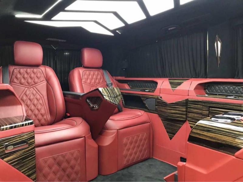 MERCEDES BENZ VITO 2018 LUXURY VIP VAN
