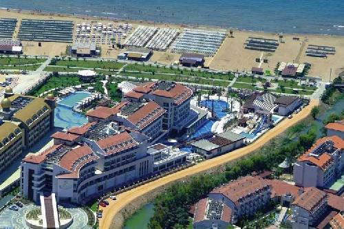 Sunis Evren Beach Resort Hotel transfer