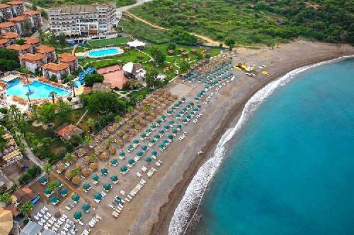 Justiniano Deluxe Resort transfer