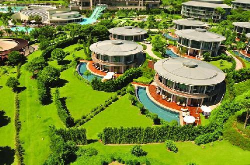Calista luxury resort Antalya Flughafen transfer
