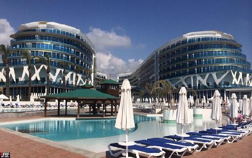 Vikingen Infinity Resort & Spa transfer