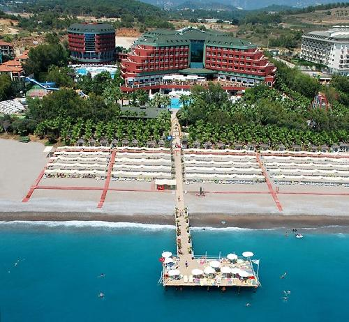 Delphin Deluxe Resort transfer