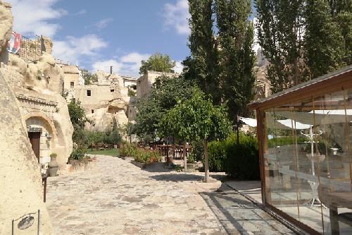 Goreme Anatolian Houses Art Concept