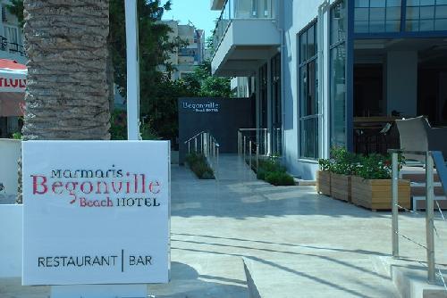 Begonville Beach Hotel transfer