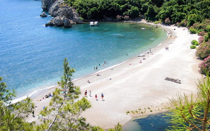 Beach Olimpos tour