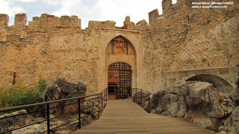 Historisches Alanya Schloss touren