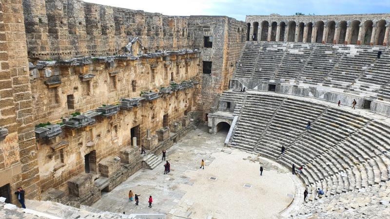 Historisches Aspendos touren