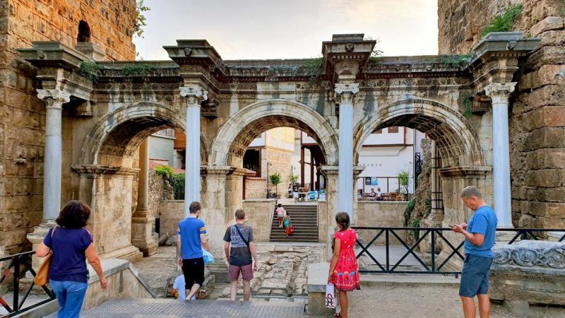 Historische Kaleici Hadrian Gate Tour